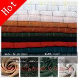 Вся обшивочная ткань жаккард химического волокна полиэфирная ткань для женщины платье из текстиля