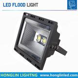 ホーム庭超細い携帯用屋外LEDのフラッドライト50W 100W 150W 200Wの穂軸LED