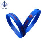 Matériau écologique d'impression en relief personnalisé Bracelet en silicone