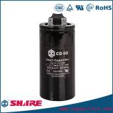 Конденсатор конденсатора компрессора конденсатора старта мотора CD60 Refrigerating алюминиевый электролитический