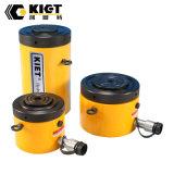 Kiet marca cilindro hidráulico de baixa estatura a porca de bloqueio