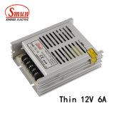 SMB-70-12 70W 12VCC 6A Ultra Léger Driver de LED d'alimentation de puissance de commutation