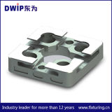 plaque de centrage de 3r/3m faite de 420 acier inoxydable 44HRC 54*54