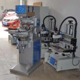Máquina semiautomática da impressora da almofada de duas cores com canela