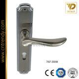 Sétaire couleur mcf de conception en alliage de zinc la plaque arrière de la poignée de porte (7068-Z6378)
