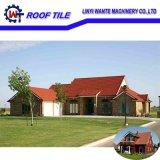Mattonelle di tetto rivestite del metallo della pietra impermeabile/materiale da costruzione