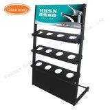 Kundenspezifische Retial gesundheitlicher Ware-System-Metallfußboden-stehende Ausstellungsstand-Zahnstange