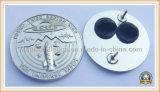 серебряной Pin 3D подгонянный плакировкой