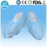 Fábrica que vende directo la cubierta disponible no tejida médica del zapato del estándar 40g