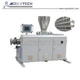 Tubo de PVC de doble línea de producción (CE/SGS)