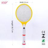 Bastão recarregável do mosquito do Swatter de mosca com tocha do diodo emissor de luz