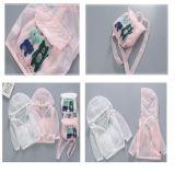 Protezioni solari respirabili leggere dei vestiti Sun-Protettivi pieghevoli dei bambini di estate
