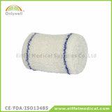 Het medische Katoenen van de Eerste hulp Elastiek omfloerst Verband