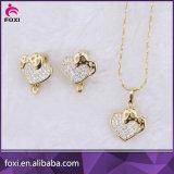 中心の形デザインダイヤモンドのジルコニアの宝石類セット