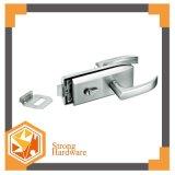 유리제 기계설비 아연 합금 Frameless 유리제 자물쇠