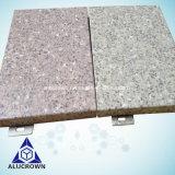カーテン・ウォールのための中国の製造者の石の穀物のアルミニウムパネル
