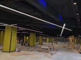 Новинка! Светодиодные лампы освещения в коммерческих целях линейных встраиваемый светодиодный алюминиевый линейные лампы широко используются в офис и склад супермаркете отеля AC100-277V светодиодный индикатор линейного перемещения