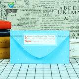 Sobre Wedding impreso insignia de encargo de las tarjetas de papel de la invitación