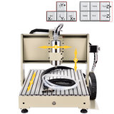 Router di CNC di asse della macchina per incidere di CNC 3 mini per elaborare del legno