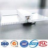 Piscine couvrant la largeur de 600mm en polycarbonate alvéolaire feuilles/ Système de connecteur en polycarbonate