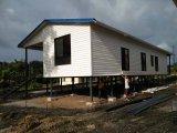 Casa Prefab modular clara com certificação do Ce