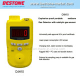 Портативный Взрывозащищенный C4h10 газовые баллоны с детектором тревоги для добычи нефти