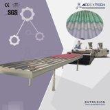 O PVC+ASA/Linha de Produção de telha de PMMA