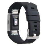 Unisex- Silicone 18mm de Riem van het Horloge voor Fitbit Last 2 de Band van het Horloge