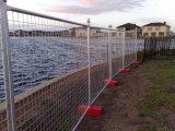 Подгонянная самомоднейшая загородка типа гальванизированная Австралией временно