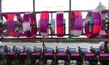 Lo spazio ha tinto il filato di poliestere lavorato a maglia del nastro