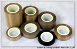 Cinta adhesiva de la fibra de vidrio revestida del Teflon de la alta calidad