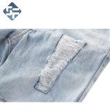 100%年の綿の子供の方法デニムのジーンズ