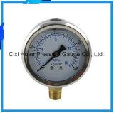 高品質の振動証拠304のステンレス鋼の圧力計