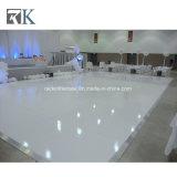 Rk preto branco piso de dança de madeira para decoração de casamento
