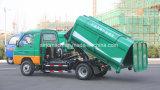 El mini carro de basura desmontable más barato/lo más bajo posible movible del envase