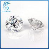 Alrededor del diamante brillante excelente de Moissanite del corte del color blanco de 10 quilates para la joyería