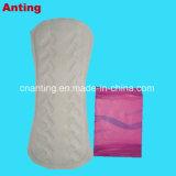 155mmのパターンが付いている女性衛生パッドのための毎日の使用された綿のPantyはさみ金
