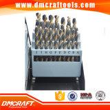 les morceaux de foret de 115PCS HSS ont placé dans la longueur 1/64 d'intermédiare de boîte de cadre en métal ou en plastique de coup à 1/2 1# à 60 a à Z, foret de 115 PCS