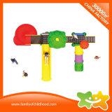 Цветастое скольжение игрушек детей парка атракционов спортивной площадки для парка