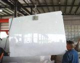 Кристально чистый белый мрамор слоя для кухни и ванной комнатой/стены и пол