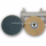 Non-Woven金属の粉砕車輪ナイロンファブリック磨く車輪