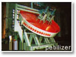 Metalúrgica, refractaria y caña de azúcar en la máquina - Pelletizer