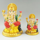 最新の樹脂のインドのヒンズー教の神のMurti Ganeshの彫像