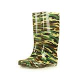 Ботинки дождя (подошва камуфлирования верхняя/прозрачная резиновый).