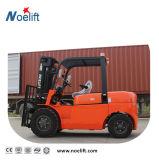 Diesel het Op zwaar werk berekende Diesel van de Vorkheftruck 5t Gebruik van de Vorkheftruck voor het Bewegen van en het Opheffen van Lading met de Motor van Japan, ISO, Ce