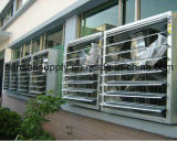 Ventilatore di scarico senza lama fissato al muro solare della serra industriale di Foshan