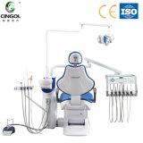 Modelo 2017 novo da cadeira dental da montagem do assoalho