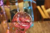 Бутылка воды напольных спортов чашки диаманта сплошного цвета прозрачная пластичная