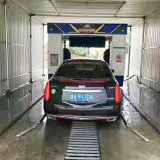 De automatische Wasmachine van de Auto van het Omvergooien met het Water van de Hoge druk