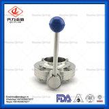 3Um padrão 304L/316L Válvula Borboleta soldadas de aço inoxidável